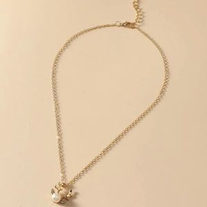 Jewelry - 🎄Pearl Reindeer Necklace🎄